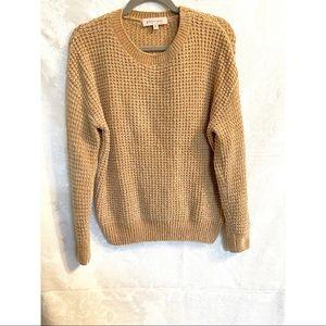 Butterscotch Philosophy Waffle Knit Sweater